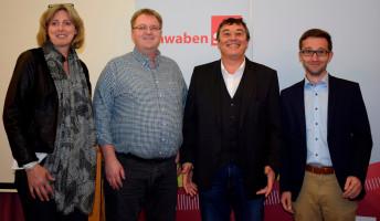 Luise Bader, Frank Otte, Achim Fißl und Tobias Auinger