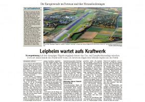 Artikel Energiewende Frau Antosch - Günzburger Zeitung