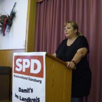 stellvertretende DGB-Landesvorsitzende Christiane Berger