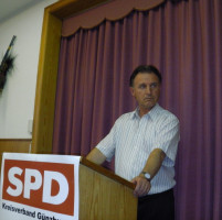 Fraktionsvorsitzender der Kreistags-SPD Gerd Olbrich