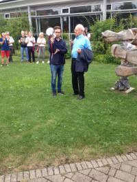 Tobias Auinger mit Alt-Oberbürgermeister Dr. Rudolf Köppler