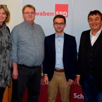 Luise Bader, Frank Otte, Tobias Auinger und Achim Fißl